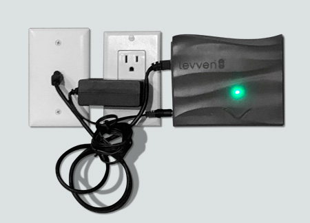 Levven-Q-install-4-with-power-plug-and-RJ45-jack